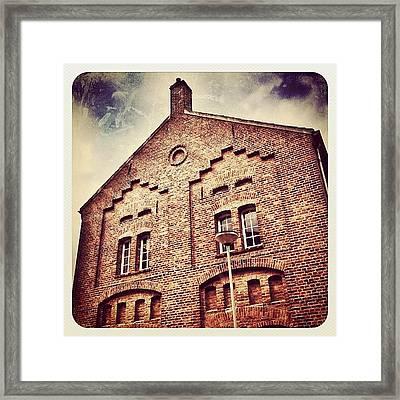 Former Beer Brewery In #venray Framed Print