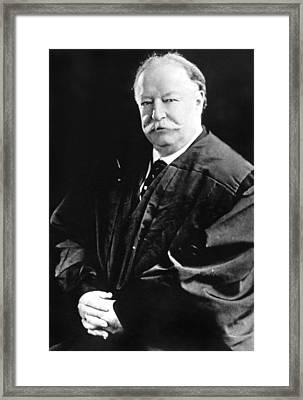 Former President Of The United States Framed Print