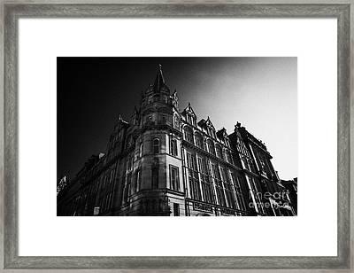 Former Prudential Assurance Building St Andrew Square Edinburgh Scotland Uk United Kingdom Framed Print by Joe Fox
