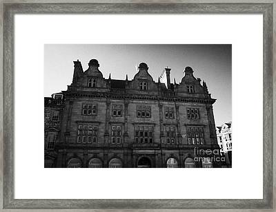 Former Scottish Equitable Life Offices 28 St Andrew Square Edinburgh Scotland Uk United Kingdom Framed Print by Joe Fox