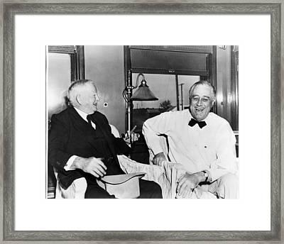 Former Vice President John Nance Framed Print