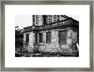 Former Victorian Ladies Waiting Room Building For Train Passengers Glasgow Scotland Uk Framed Print