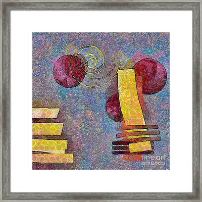 Formes - 08a Framed Print by Variance Collections