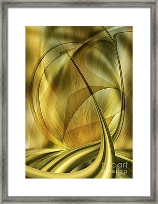 Forms In Movements 3 Framed Print