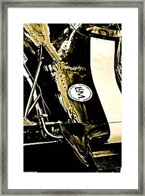 Framed Print featuring the photograph Formula 5000 by Michael Nowotny