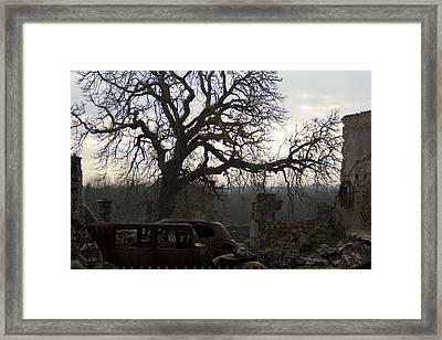 Forsaken Framed Print by Georgia Fowler