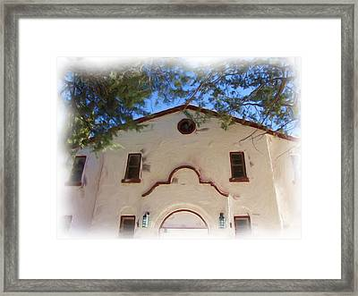 Fort Bayard Theater Framed Print by FeVa  Fotos