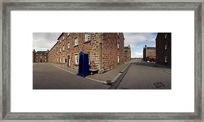 Fort George Barracks  Framed Print