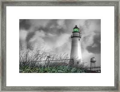 Fort Gratiot Lighthouse Framed Print