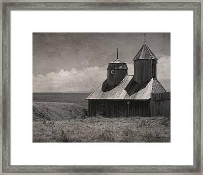 Fort Ross Seashore Framed Print by Julie Magers Soulen