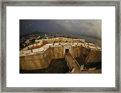 Fort San Diego Warded Off Pirates Framed Print by Sisse Brimberg