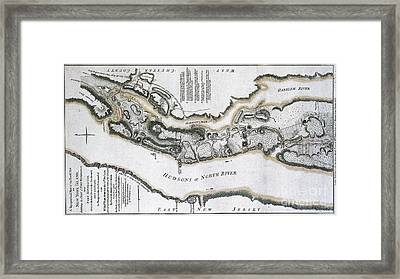 Fort Washington Attacks, 1776 Framed Print by Photo Researchers