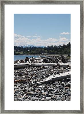 Fort Worden Framed Print by Jim Moore