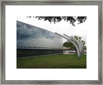 Fort Worth Tornado Art Framed Print by Shawn Hughes