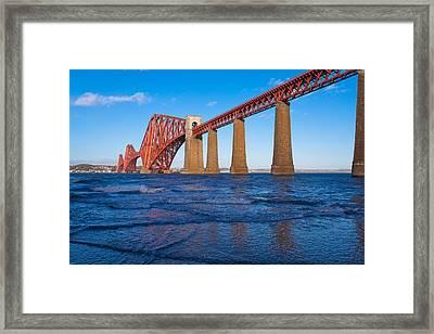 Forth Rail Bridge Framed Print by Gary Finnigan