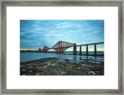 Forth Rail Bridge Framed Print by Svetlana Sewell
