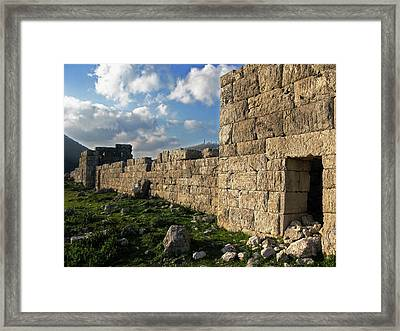 Fortified Citadel Framed Print by Andonis Katanos
