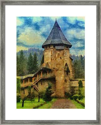 Fortified Faith Framed Print by Jeff Kolker