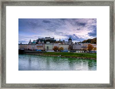 Fortress City Framed Print
