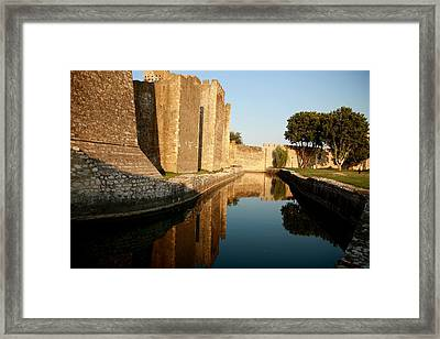 Fortress Framed Print by Frederic Vigne