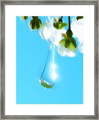 Fortune Teller Framed Print by Greta Thorsdottir