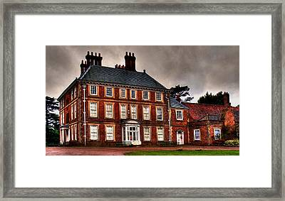 Framed Print featuring the photograph Forty Hall by David Harding