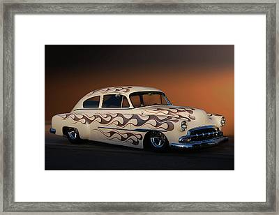 Framed Print featuring the photograph Forty-nine Fastback by Bill Dutting