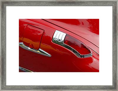 Framed Print featuring the photograph Fortynine Buick by John Schneider