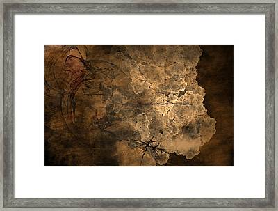 Fossilite Framed Print by Christopher Gaston