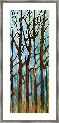 Found In The Trees Framed Print by Lisa Masters