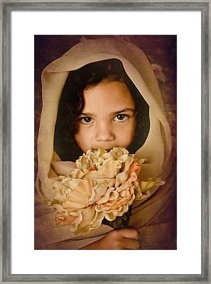 Found Framed Print by Jennifer Burden