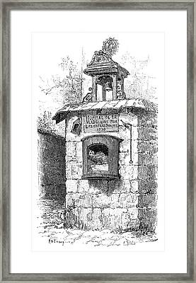 Foundling Tower, 19th Century Framed Print by
