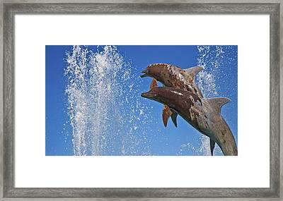 Fountain  Framed Print by Betsy Knapp