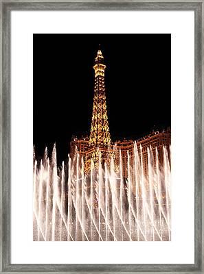 Fountain Dance  Framed Print by John Rizzuto