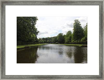 Framed Print featuring the photograph Fountains Abbey  by David Grant