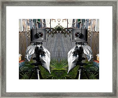 Four By Five Framed Print by Richard Yamakawa