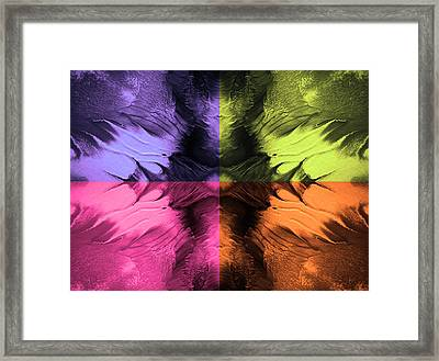 Four Corners Framed Print