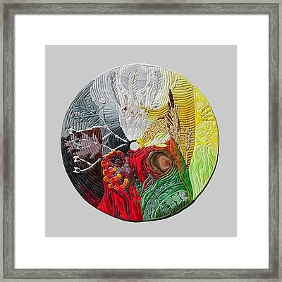 Four Directions  2 Framed Print by Arla Patch