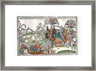 Four Horsemen Of The Apocalypse, 1522 Framed Print