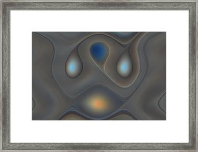 Four Pale Lights Framed Print