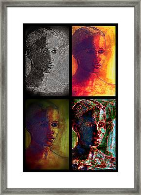 Four Seasons Framed Print by Diane montana Jansson