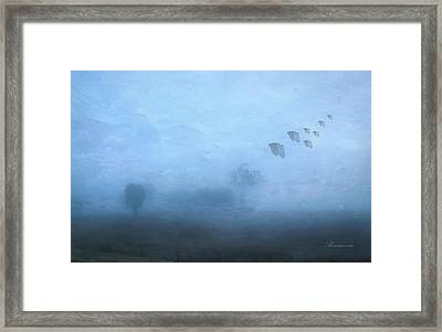 Four Seasons Winter Arrives Framed Print