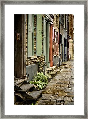 Fournier Street Framed Print by Heather Applegate