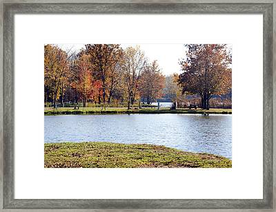 Fowler Lake 3 Framed Print by Franklin Conour