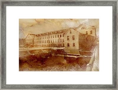 Fox River Mills Framed Print by Joel Witmeyer