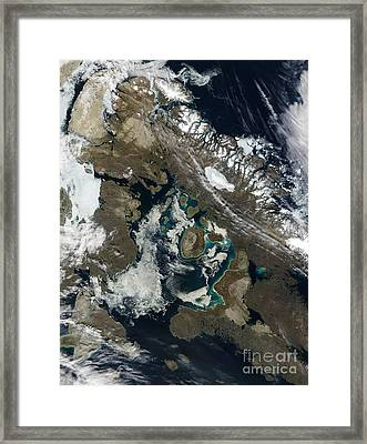 Foxe Basin, Northern Canada Framed Print