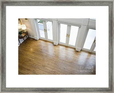 Foyer And French Doors Framed Print