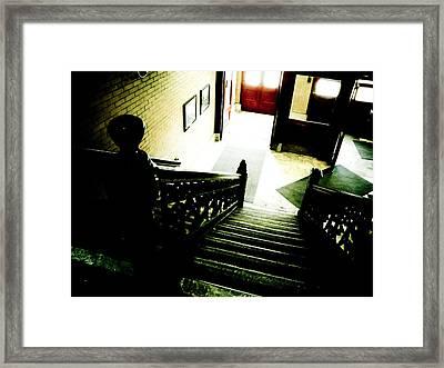 Foyer Framed Print by Jessica Brawley