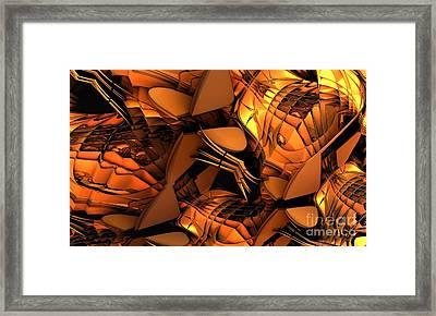Fractal - Orchestra Framed Print by Bernard MICHEL