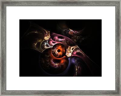 Fractal World Framed Print by Steve K